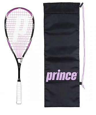 Prince Team Pink 700 Squash Racket + Cover RRP £160