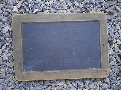 Antique Vintage Wooden School Board Plank For Writing