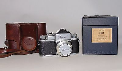 "Rare camera ""ZENIT"" № 5415397 in his own box!"