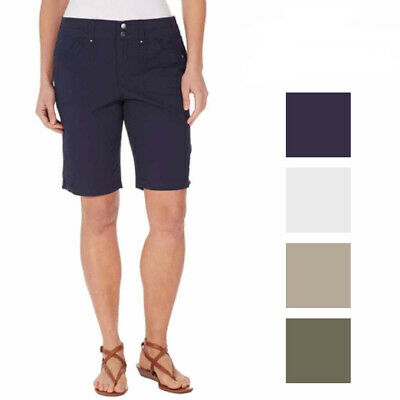 c3e1c0790f NWT WOMEN'S GLORIA Vanderbilt Sierra Short with Belt - Twill Cotton ...