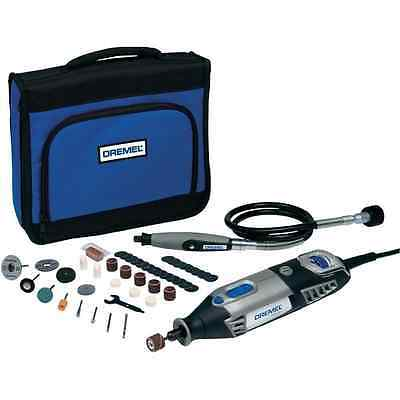 New Dremel 4000-1/45 Multitool With 45 Accessories + Flexi Shaft (1405)