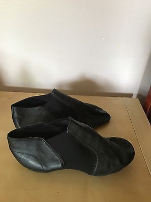 Dance Class Black Jazz Shoes, One Size 10, One Size 11