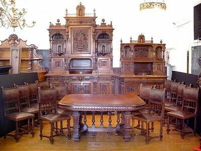 THE REAL DEAL 1840's Genuine Victorian Antique Dining Room Set