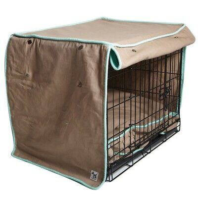 "Molly Mutt ""Wild Horse"" Brown Dog Crate Cover 100% Cotton & Washable ~All Sizes"