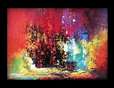 New Original Hand Painted Modern Abstract Landscape Acrylic Painting On Canvas