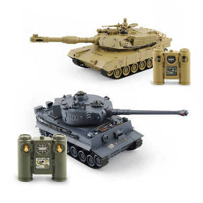 UK Radio Control RC Battle Tank 1/28 Infrared Tiger/T90/M1A2 Tanks RC Toys MODEL
