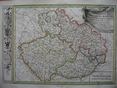 1787 - De PRETOT - Map CENTRAL EUROPE  BOHEMIA  MORAVIA  EASTERN POLAND