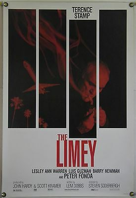The Limey Ds Rolled Orig 1Sh Movie Poster Terence Stamp Peter Fonda (1999)