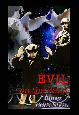 Evil on the Wind, Costeloe, Diney Paperback Book The Cheap Fast Free Post
