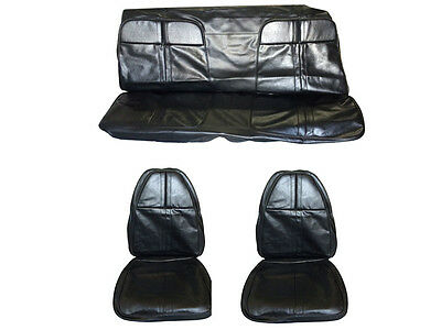 1971 Cuda Barracuda Front & Rear Seat Cover Upholstery Set - BRAND NEW