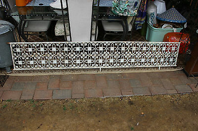 Antique Wrought Iron Architectural Garden Trellis-Flower Designs-LARGE HEAVY