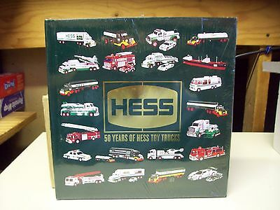 50 Years of Hess Toy Trucks Hard Cover Commemorative Book - Sealed