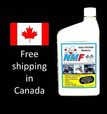 NMF Ionic Friction Reducer, 8 Engines (32 oz / 946 ml) - Canada