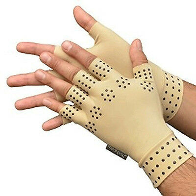 Magnetic Anti Arthritis Health Compression Therapy Gloves Fingerless Gloves Hot