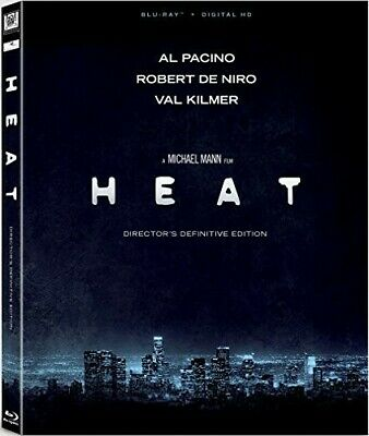 Heat (Director's Definitive Edition) [New Blu-ray] Ac-3/Dolby Digital, Digital