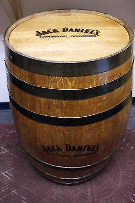 Genuine Jack Daniels Oak Branded Finished Whiskey Barrel 55 Gal Pickup Only