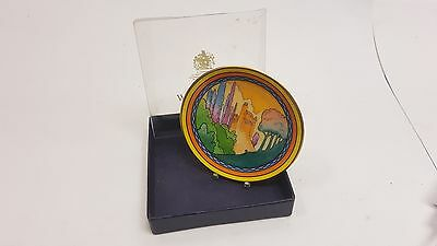 Boxed 250th Anniversary Royal Worcester Castles in the Air Pin Dish/Tray