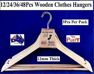 Wooden Coat Hangers Wood Bulk Clothes Clothing Coat hangers Garment Shirt Suit