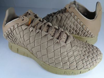 Womens Nike Free Inneva Woven Tech SP Desert Tan Brown Rare SZ 6 (705797-220)