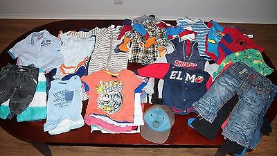 Massive Bulk Bundle of used Size 1 Boy's Clothes - 74 items (Lot 2)