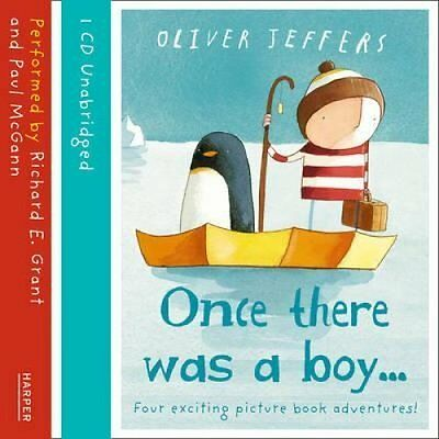 Once There Was a Boy... by Oliver Jeffers 9780007490110 (CD-Audio, 2013)