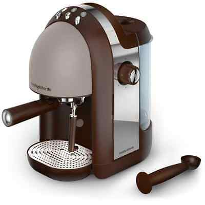 Morphy Richards 172005 Accents Espresso Coffee Machine 15 bar Pebble New from