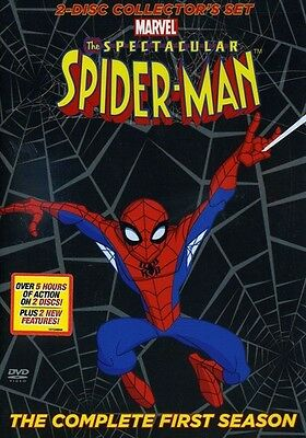 Spectacular Spider-Man: The Complete First Season [2 Discs] (2009, DVD New) WS