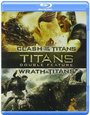 Clash Of The Titans + Wrath Of The Titans  (2012, Blu-ray New) BLU-RAY/Import-EU