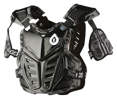 661 MOTOCROSS MX PRODIGY ROOST PROTECTOR chest body armour black ADULT LARGE
