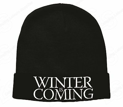 GOT WINTER IS COMING- BEANIE- Game of Thrones
