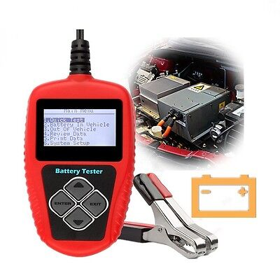 12V Auto Car Battery Load Tester Analyzer Cranking Start 100-2000CCA 220AH BA101