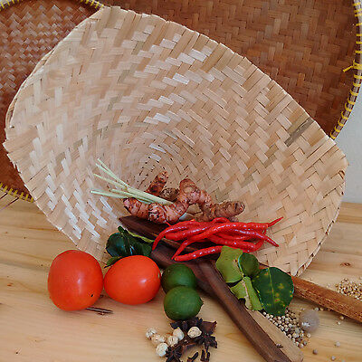Bamboo Baskets - Used as baskets and also for steamer, great as decorations too