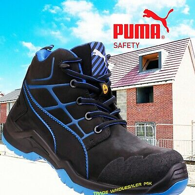 bfbfded3616 Puma Krypton Industrial Mens S3 SRC Composite Metal Free Safety boots ESD  Rated