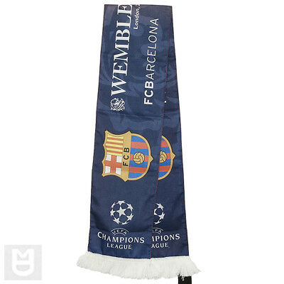 MANCHESTER UNITED v BARCELONA CHAMPIONS LEAGUE Final 2011 Scarf