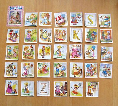 ☆ LOVELY DOLL ☆  33 images ( No Panini ) Vintage 80's