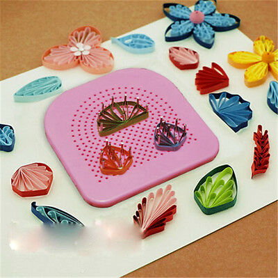 Paper Quilling Crafting DIY Paper-Rolling Tool Origami Guide Craft 1Kit