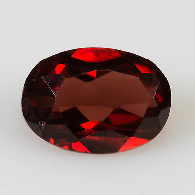 1.20 ct Pyrope Garnet Oval cut 7.09x5.05mm VS Natural loose red gemstone