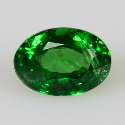 0.50 ct Tsavorite Garnet Oval cut 5.69x3.98mm Si2 Natural green loose gemstone