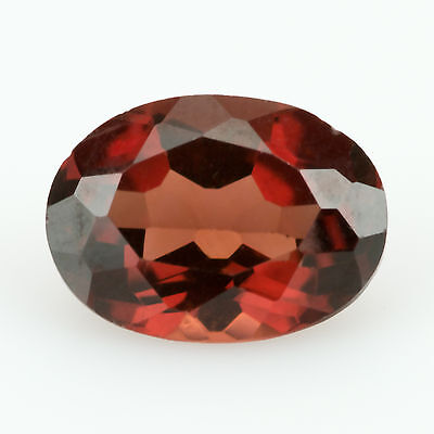1.05 ct Almandine Garnet Oval cut 7.10x5.19mm Si1 Natural loose red gemstone