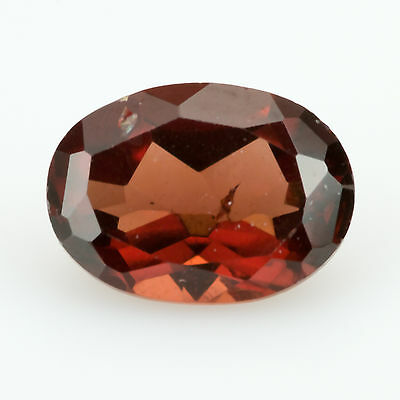 1.01 ct Almandine Garnet Oval cut 7.00x5.01mm Si1 Natural loose red gemstone