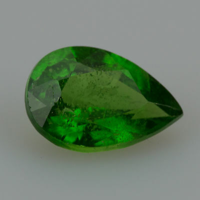 0.40 ct Tsavorite Garnet Pear cut 5.65x3.89mm Si2 Natural green loose gemstone