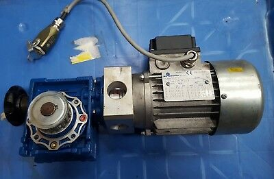 Motovario Motor Nrv040 With T63B4 Gearbox (Rs5.2)