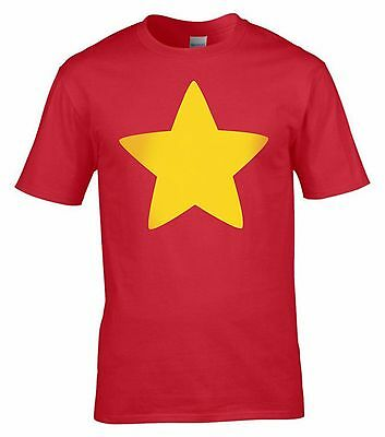 STEVEN UNIVERSE Gold Star T-Shirt - Adults & Kids Size T-Shirts
