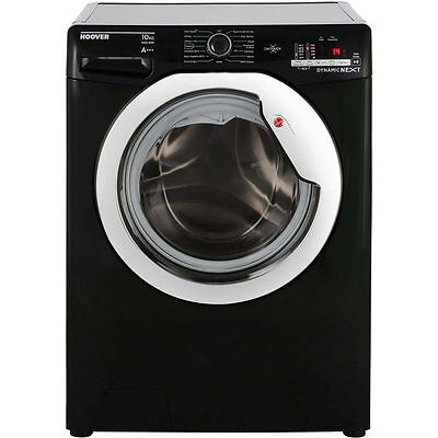Hoover DXOC410C3B One Touch A+++ 10Kg Washing Machine Black / Chrome New from