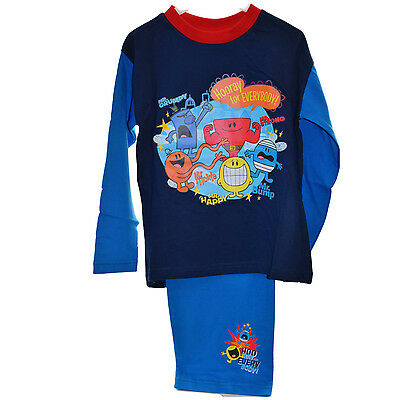 Mr Men Little Miss Pyjamas with Mr. Men Characters Print