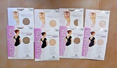NEW in Package Eurotard Convertible Tights Girls Ladies Four Colors #210