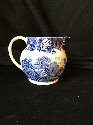 Vintage Enoch Woods Ware English Scenery Pitcher
