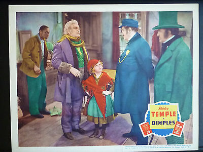 1936 Dimples - N. Mint Lobby Card - Shirley Temple + Stepin Fetchit Frank Morgan