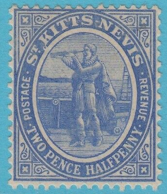 St Kitts Nevis 17 Mint Hinged Og * No Faults Extra Fine !