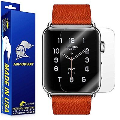 NEW 2 Pack Armorsuit Militaryshield iWatch Series 2 42mm Screen Protector